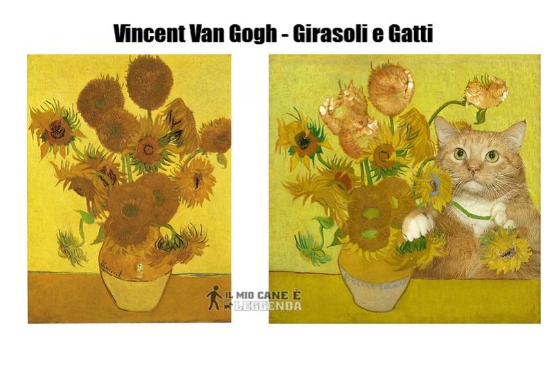 10+ Dipinti Famosi Ricreati da uno Splendido Gatto Rosso!