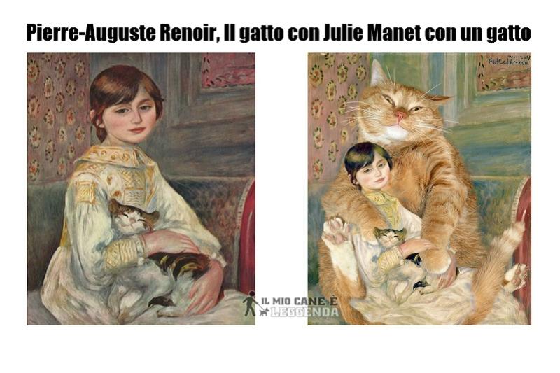 10 Dipinti Famosi Ricreati Da Uno Splendido Gatto Rosso