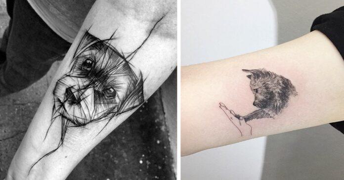 tattoo di cani