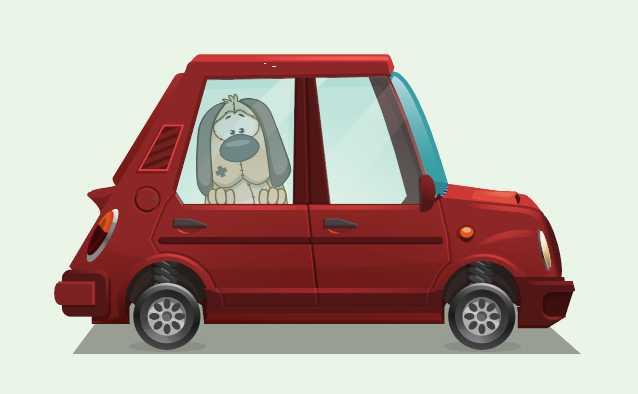 5 cose che puoi fare se vedi un cane chiuso in auto sotto il sole rovente!