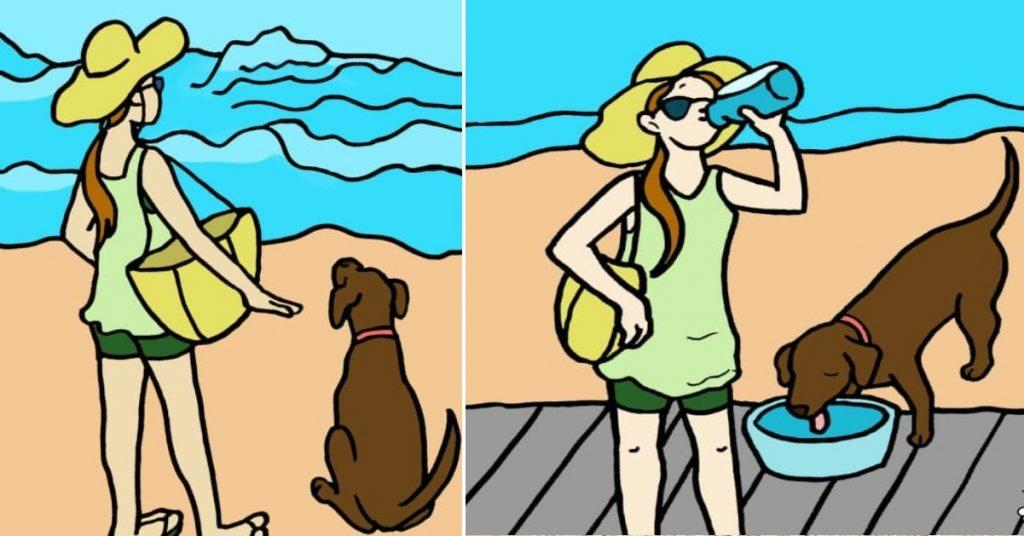6 cose che devi assolutamente sapere per difendere il tuo cane dal caldo estivo!