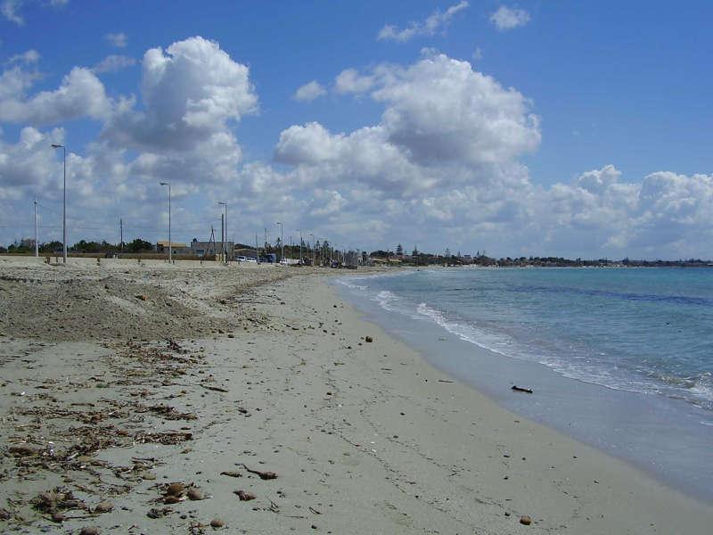 La spiaggia di Fiumicino