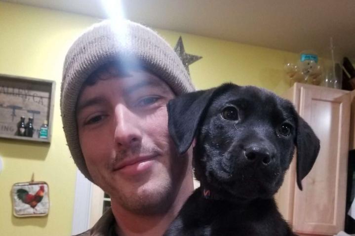 il Cane Emerson e il suo padrone Nick, entrambi sordi