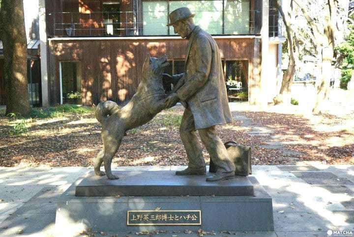 Statua di cane
