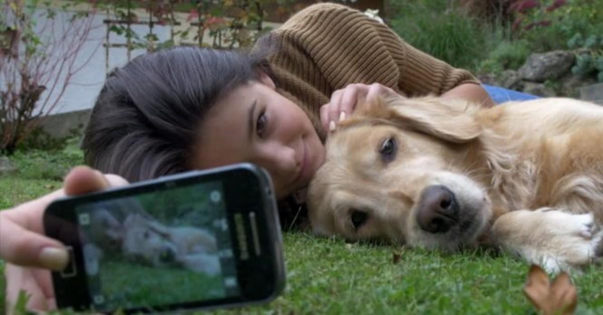 fare una foto con il cane