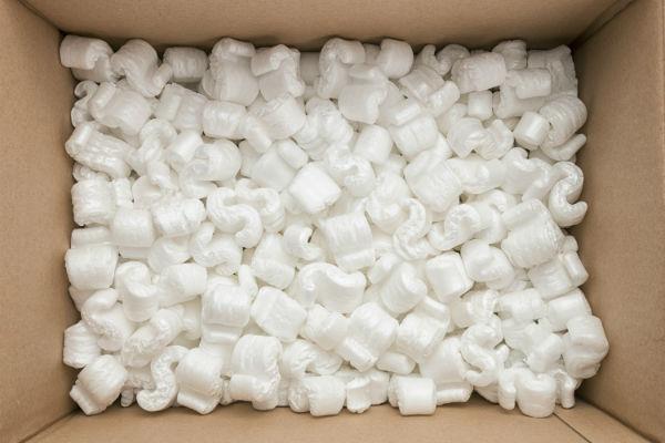 scatola di polistirolo