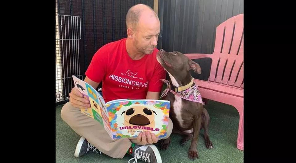 Queen, il cane che ha trovato l'adozione grazie ad un gesto speciale