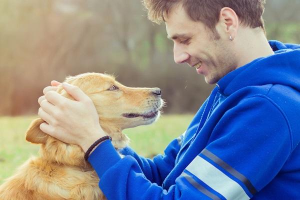 cane e ragazzo