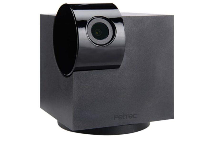 videocamera per cani con microfono e altoparlante