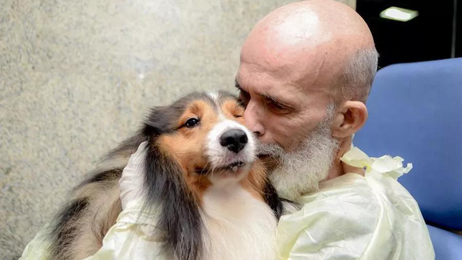 Agadir, il cane che ha aiutato il proprietario malato a stare meglio