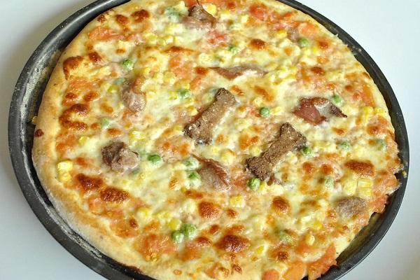 pizza per cane