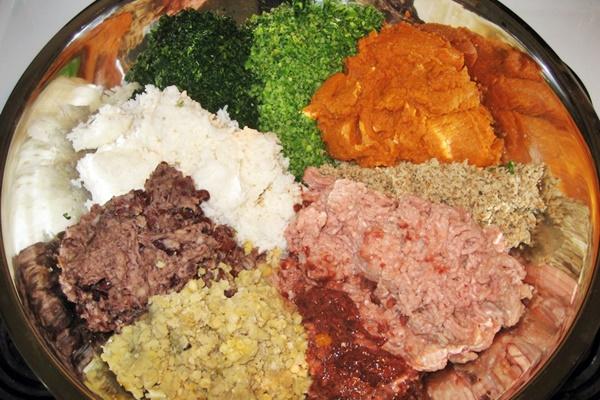 ingredienti per le polpette