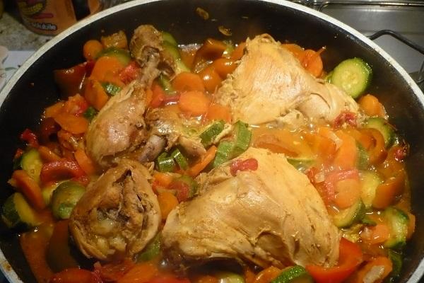 ingredienti per cosce di pollo per il cane