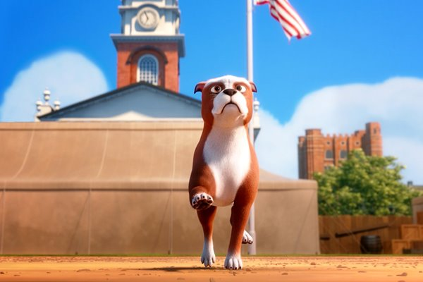 cartone animato su un cane