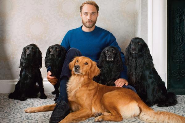 Ella, la cagnolina che ha aiutato James Middleton a sconfiggere la depressione