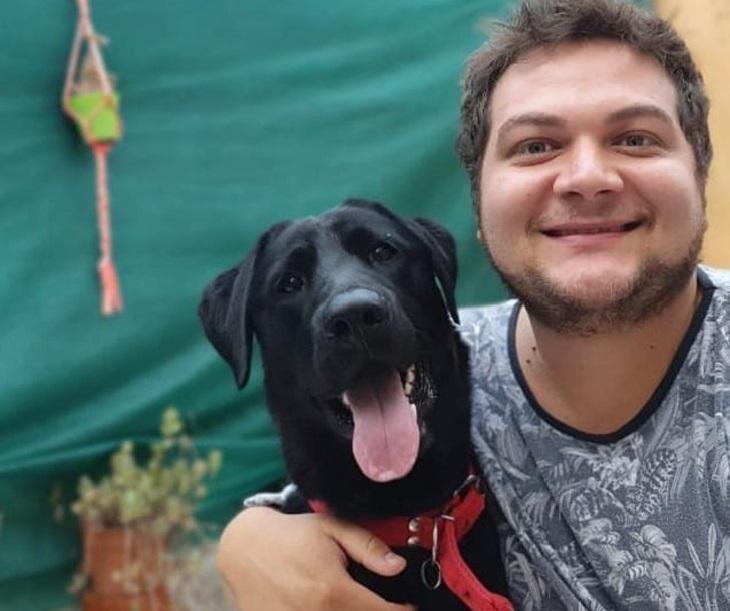 jose cane labrador famiglia