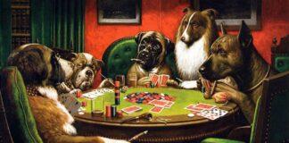 cani che giocano a poker