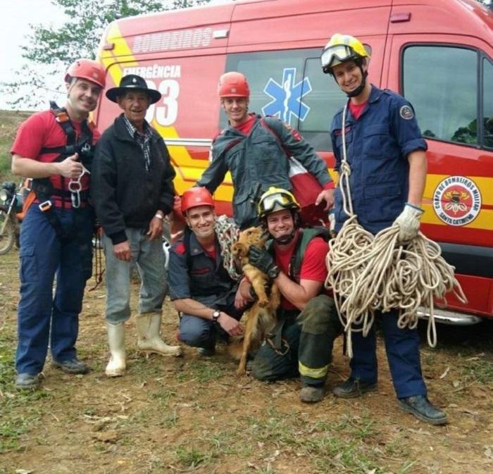 safira salvataggio pompieri