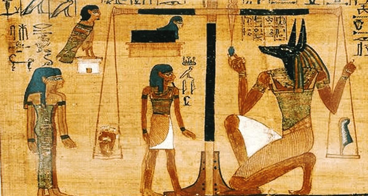 dipinti egizi nelle tombe dei faraoni