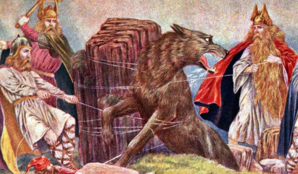 fenrir nella mitologia nordica