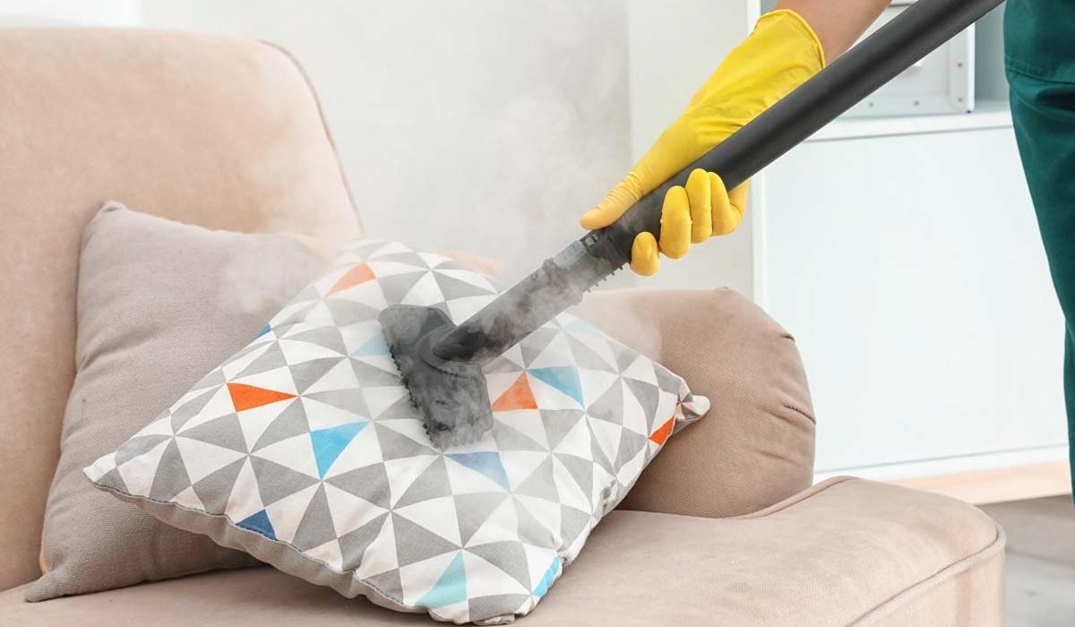 pulire i cuscini del divano