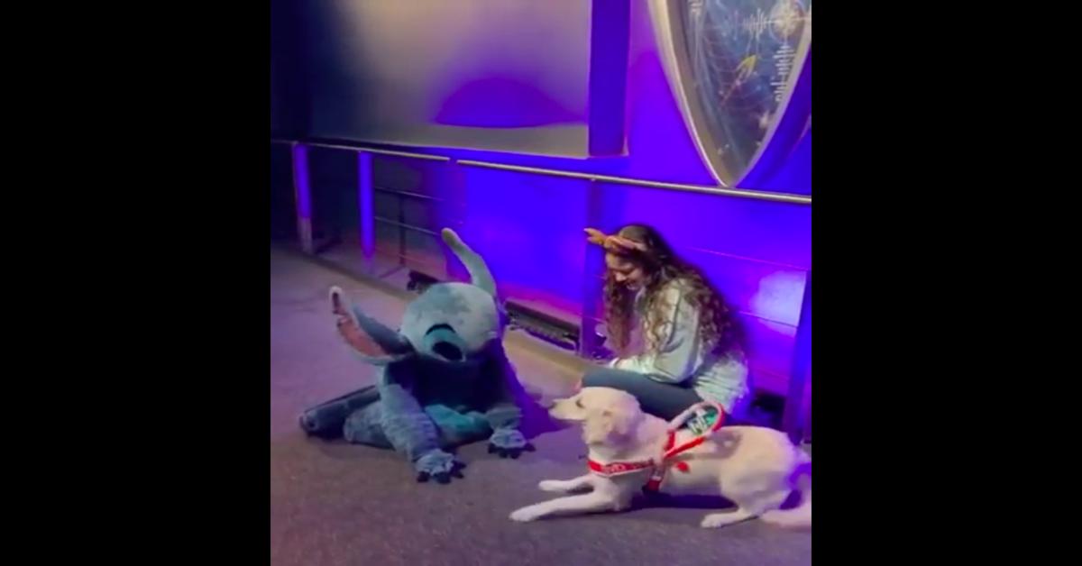 La gioia di Ezra al conoscere Stitch
