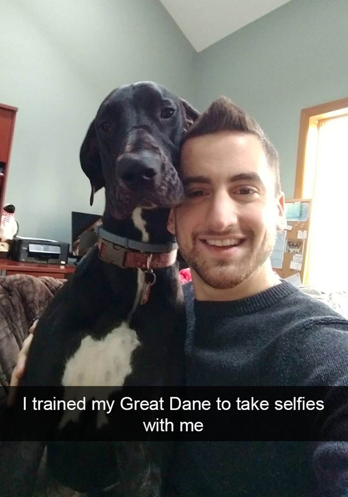 cane selfie