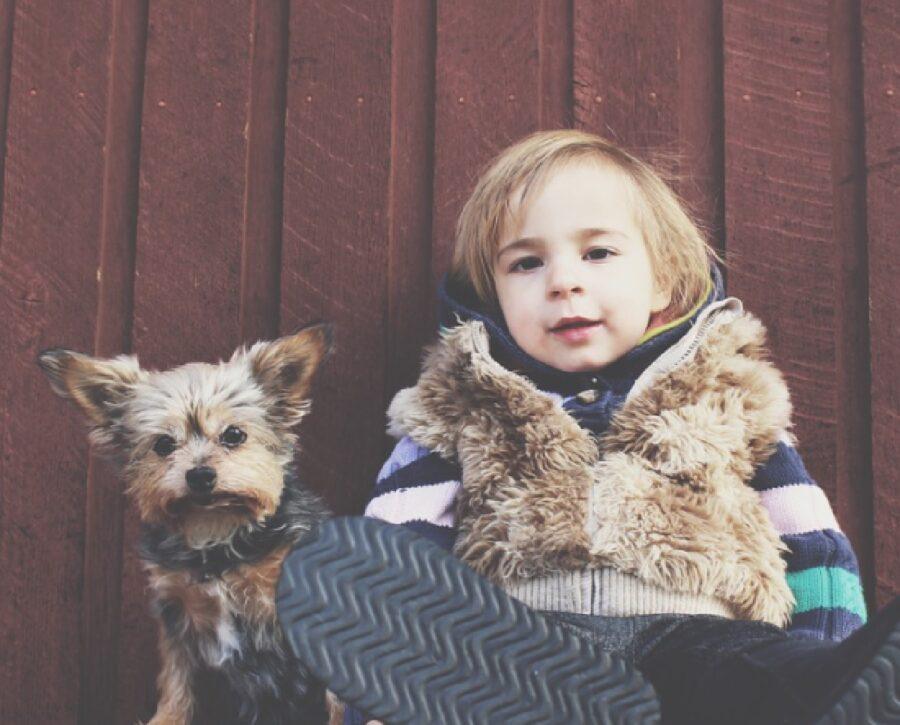 gazzola alunni scuola elementare iniziativa cane