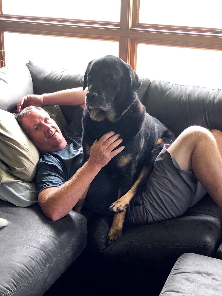cane papà amicizia