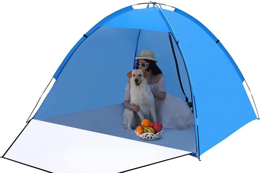 tenda da campeggio per cane