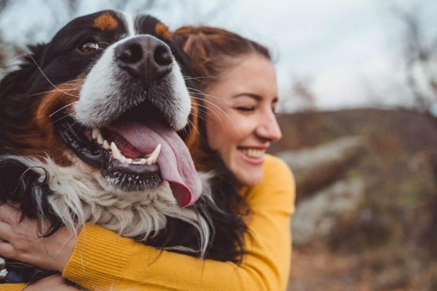 legame tra cane e ragazza