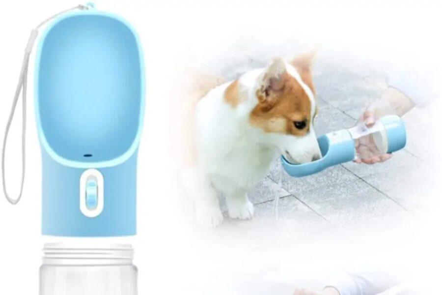 borraccia portatile per il cane