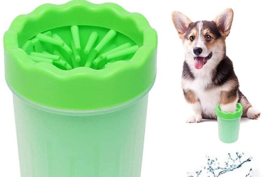 pulisci zampe per il cane