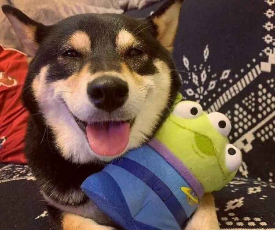 cane amico alieno pupazzo