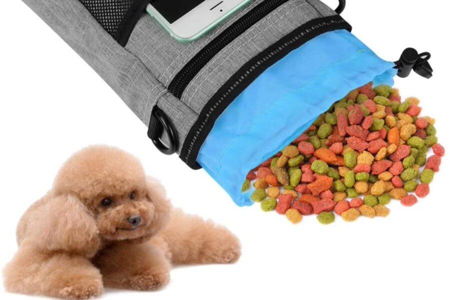 borsetta da addestramento cani