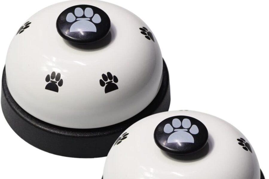 campanelle per addestrare il cane