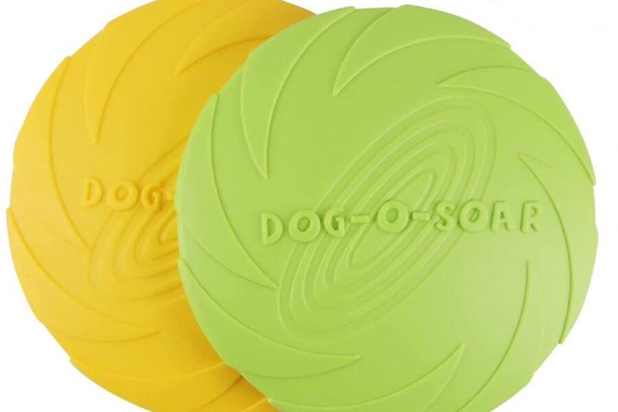 frisbee per il cane