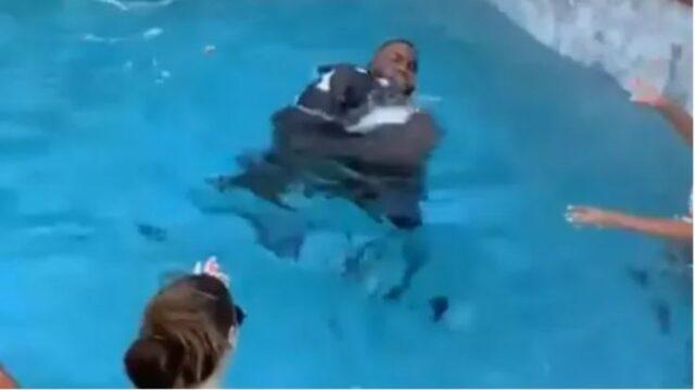 boogie in piscina