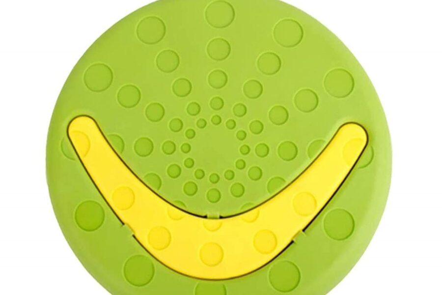 frisbee con boomerang per cane
