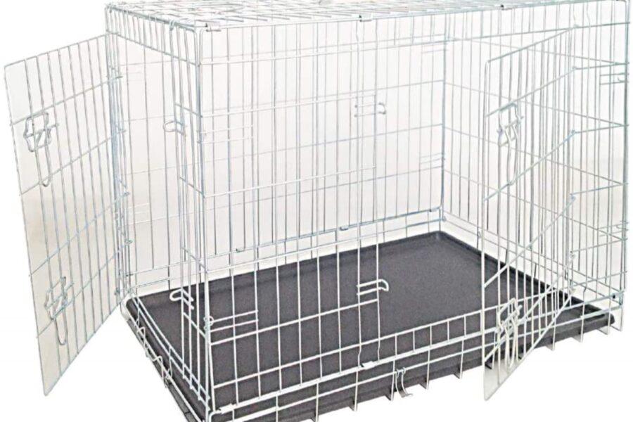 kennel zincato per cani