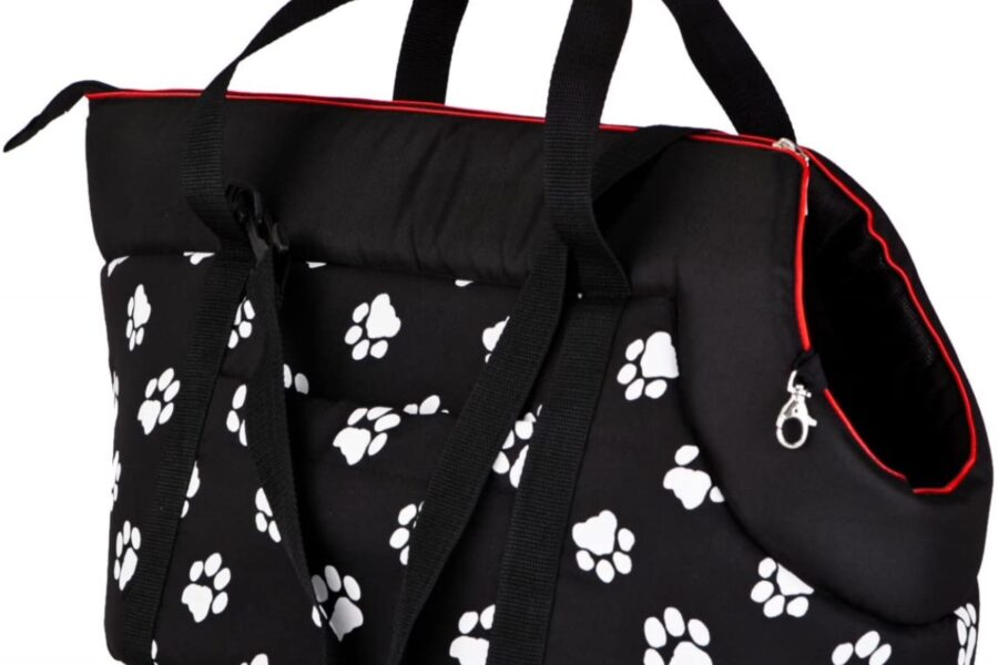 borsa a tracolla per cani