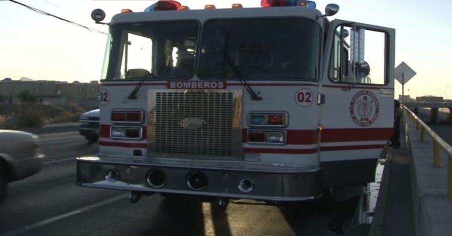autopompa dei vigili del fuoco