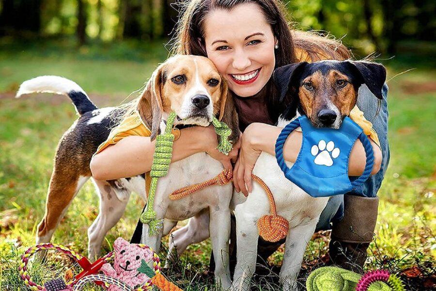 giochi da esterno per cani