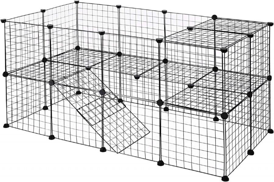 recinto su più livelli per cani