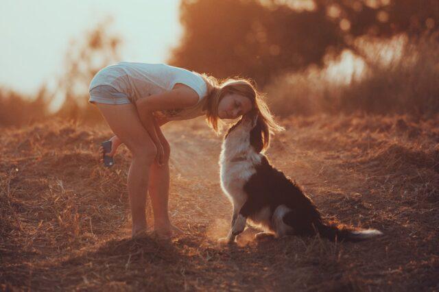 cucciolo con mamma