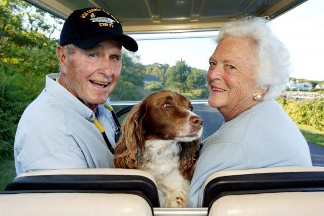 famiglia Bush al completo
