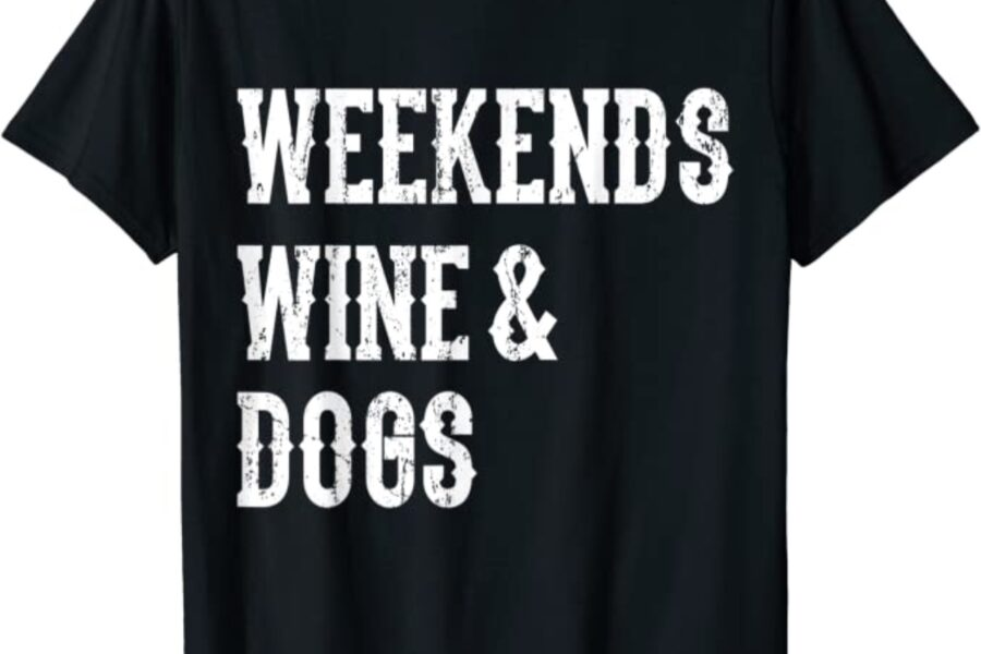 maglietta per amanti di cani