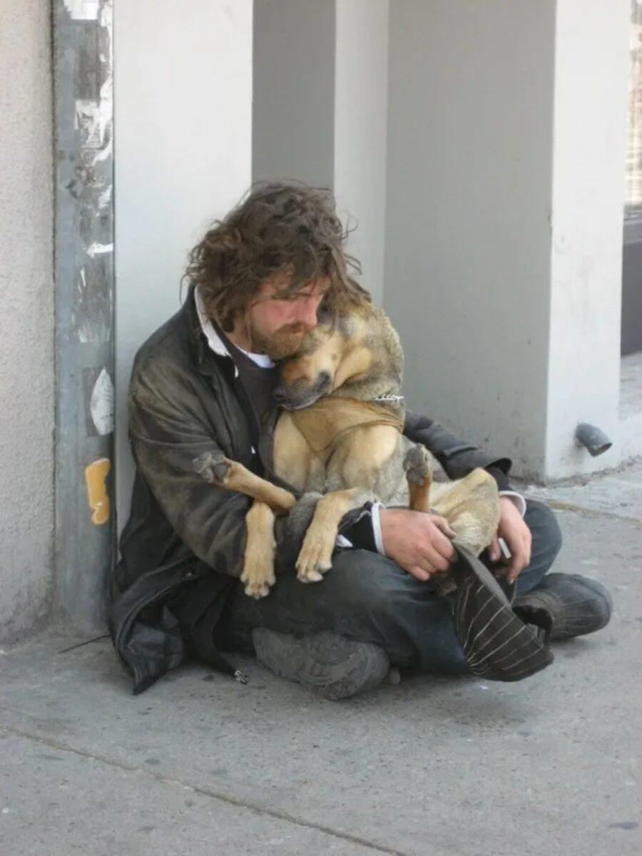 cane dolcissimo papà