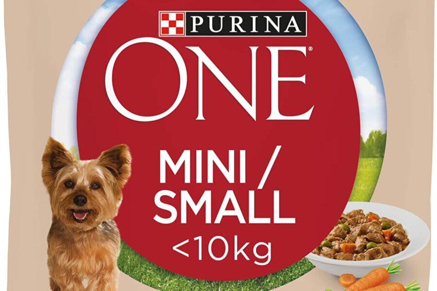 carne e verdure per il cane