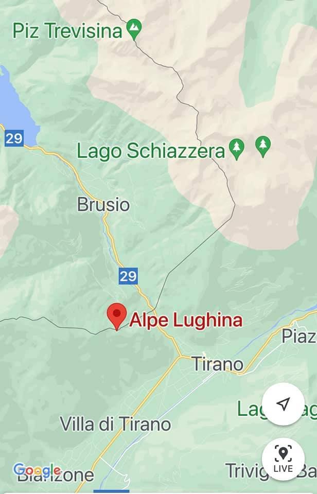 mappa alpe lunghina